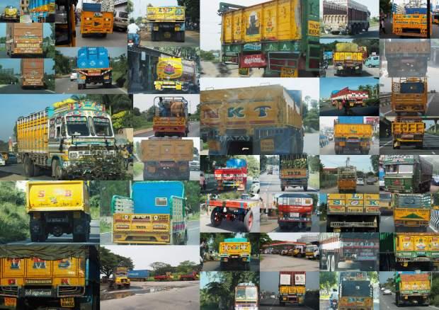 Trucks of India1